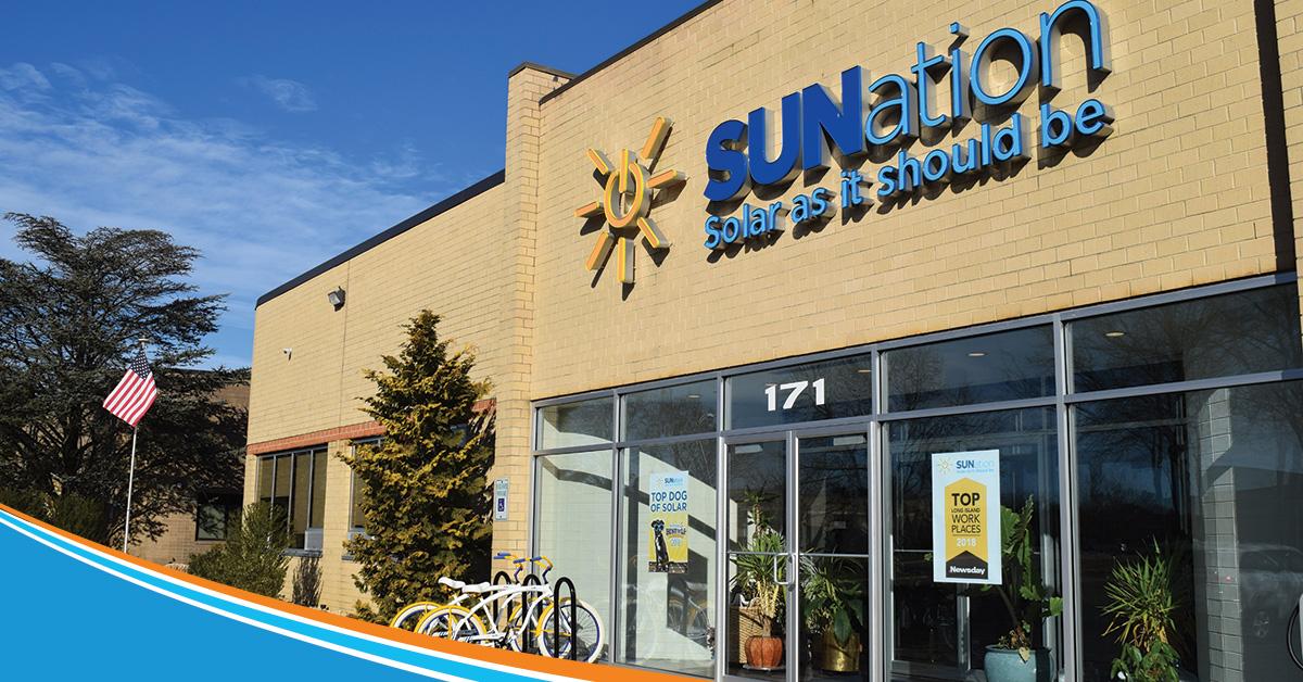 SUNation building in Ronkonkoma, NY